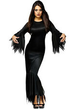 Brand New Madam Morticia Vampire Witch Adult Costume