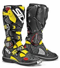 SIDI Crossfire 2 MX BOOTS Yellow Fluro Black Size45
