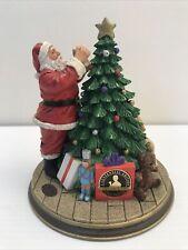 "Rhodes Studios 1994 ""Santa Decorates The Tree: Centennial Edition� B1621"