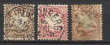 2081-LOTE SELLOS COLECCION ALEMANIA BAYERN BAVIERE 1881 .filigrana vertical.8,5€