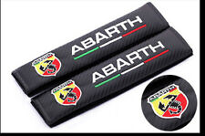 2x Car Seat Belt Cover Safety Shoulder Pads Strap Protection For Abarth
