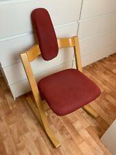 STOKKE Varier Pendulum Balans Stuhl Chair Kufenstuhl Bewegungsstuhl Leder TOP