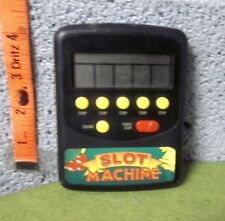 COMPUTER SLOT MACHINE handheld video game 1990s electronic Waco Products