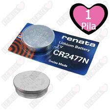 Renata Batteria CR2477N Litio 3V Pulsante Batteria Cr 2477N Pile A Bottone