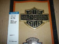 Harley Davidson Frame Neck or Shock PATENT Name Plate NOS OEM Part #66030-88