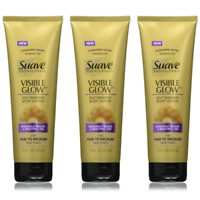 (3) Suave Visible Glow Self tanning Body Lotion Fair to Medium !! Spring Time !!