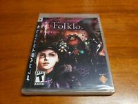 Folklore (Sony PlayStation 3, 2007) BRAND NEW SEALED Factory Error READ DESC