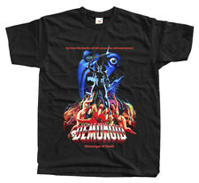 Demonoid: Messenger of Death, movie poster 1981, T-Shirt (BLACK) ALL SIZES S-5XL
