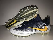 Nike Vapor Untouchable Pro Football Cleats Men's Size 11 Navy Blue Yellow White