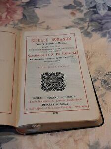 Rituale Romanum Messbuch von 1927