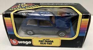 Fiat Panda Olio Fiat bleue - BURAGO 4147 - 1980's - Neuf