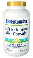 Life Extension Mix Capsules NEW FORMULA! 360 capsules 30 day supply multivitamin