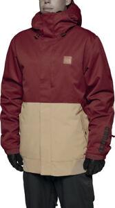 ThirtyTwo RYDER Mens Snowboard Jacket Large Oxblood NEW