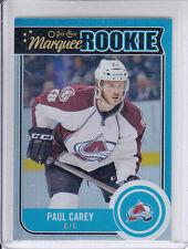14/15 OPC Colorado Avalanche Paul Carey Marquee Rookie Rainbow card #506