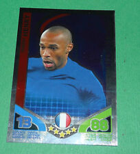 HENRY JOUEUR VEDETTE FRANCE TOPPS MATCH ATTAX TRADING CARD GAME FOOTBALL 2010