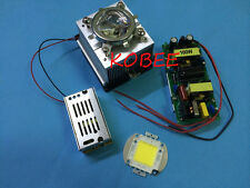 100w led chip +100W led driver+cooling heatsink+ Lens with Reflector Collimator