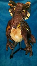 Rare, Discontinued Folkmanis Hand Puppet - Large Earth Dragon - ages 3 to 10