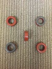 Iron Powder Red Toroidal Core T-157-2. Lot of 12 toroids for $32.00