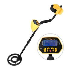 Metal Detector Gold Digger Finder Deep Sensitive Light Hunter w/ LCD Display