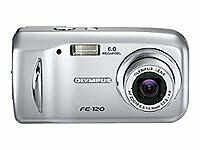 Olympus FE FE-120 6.0MP Digital Camera - Silver