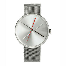 "Projects Watches ""Crossover Mesh"" Orologio Maglie Acciaio Quarzo Argento Uomo"