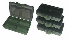 4x MDI Terminal Tackle Storage Boxes, 4 Compartment ideal for Hooks, Swivels etc