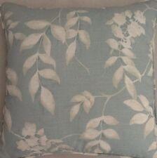A 16 Inch Laura Ashley cushion cover In Lockwood Duck Egg fabric