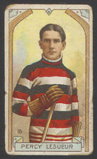 1911-12 C55 IMPERIAL TOBACCO HOCKEY #16 PERCY LESUEUR GOALIE HALL OF FAME