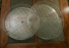 Two (2) Miracle Dehydrator Model Me972 Replacement Trays