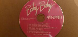 ASHANTI - Baby Baby - (7 Track Promo CD) - Love To Infinity / Ernie Lake Mixes
