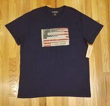 DENIM & SUPPLY RALPH LAUREN MEN AMERICAN FLAG GRAPHIC T-SHIRT SZ L THESPOT917