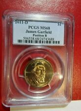 2011-D James Garfield PCGS MS68 (Top Pop) Pos.B