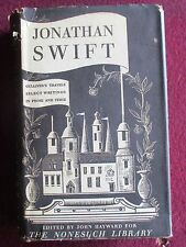SWIFT:  Gullivers Travels ,Prose & Verse (Nonsuch Library HB  Ist Ed 1946)
