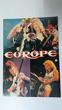Europe Sweden Joey Tempest vintage group artist music postcard POST CARD 1