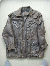 Mans Brown Nappa Leather Jacket, large XXL previously worn.