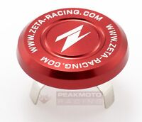 ZETA - ZE58-4133 - Aluminum Steering Stem Nut Cap, Red