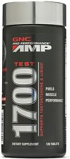 GNC AMP 1700 TEST 120 TAB BRAND NEW, FACTORY SEALED - EXP 02/21