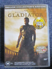 Dvd Gladiator Deluxe Collector'S Edition 2 Disc Set Great * Must See *
