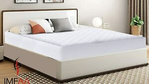 HOTEL QUALITY WATERPROOF EXTRA DEEP 40CM QUILTED MATTRESS PROTECTOR FITTED COVER