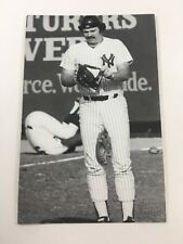 Barry Foote (1983) New York Yankees Vintage Baseball Postcard NYY