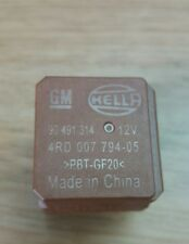 VAUXHALL INSIGNIA  CONTROL RELAY 5 PIN BROWN  HELLA  90491314 4RD007794-05