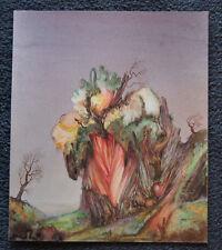 Gouache-Bild von Paul Steiner Eine Landschaft sig. 1969   (A7)