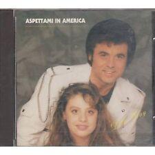 LITTLE TONY - Aspettami in America  - ROSANNA FRATELLO CD 1990 USATO OTTIME COND