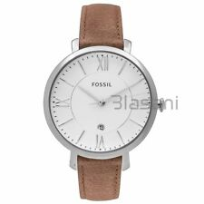 Fossil Original ES3708 Women's Jacqueline Brown Leather Watch 36mm