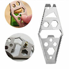 Key Chain EDC Mini Hot Multifunction New  Outdoor Survival  Hex Wrench Pry Bar