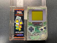 Nintendo Game Boy Classic  Konsole mit Case Transparent