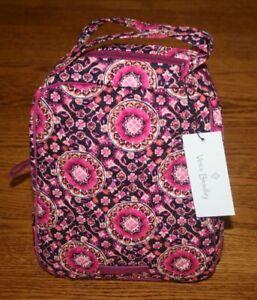 Vera Bradley LUNCH BUNCH insulated bag tote sack case box cooler  4 school work