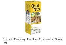 (4B1)  Quit Nits Everyday Head Lice Preventative Spray- 4oz free shipping