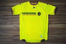 BELGIUM NATIONAL TEAM 2013/14 THIRD GOALKEEPER FOOTBALL SHIRT JERSEY BURRDA XL