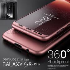 Híbrido 360° ANTICHOQUE Fino Funda Rígida Protector de pantalla para Samsung